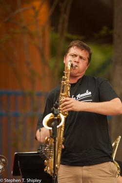 Fred Vaughn, Sax