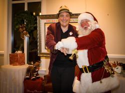 Swing Dancing with Santa!