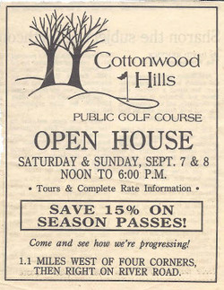 First Newspaper Advertisement