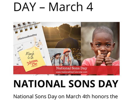 National Son's Day- The Bereaved Edition