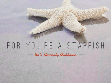You're a Starfish