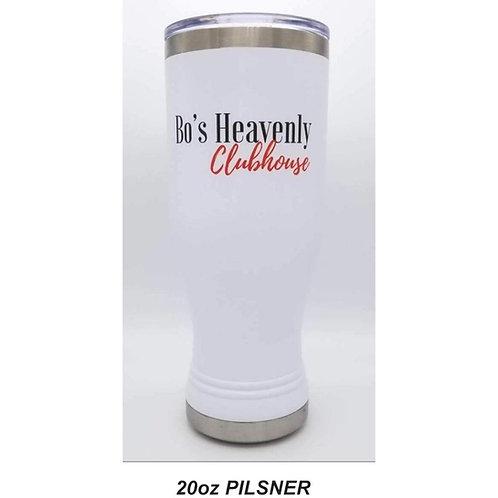 Bo's White Pilsner: 20 oz