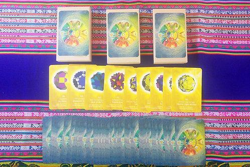 Light Language Shapes Cards