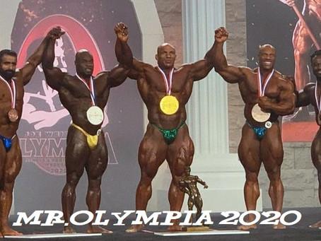 """Review Kết quả Mr.Olympia 2020 - Một kì Olympia """"gây sốc"""" toàn tập"""