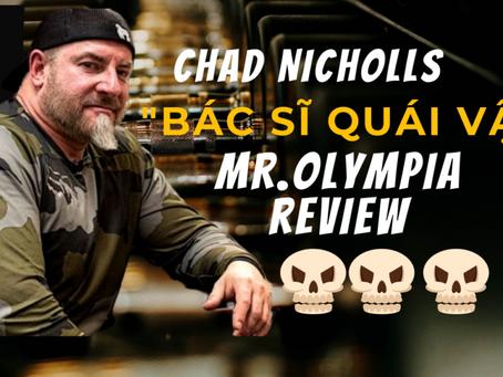 """Chad Nicholls - """"Bác sĩ quái vật"""", """"vị thần dinh dưỡng"""" của các Mass Monster"""