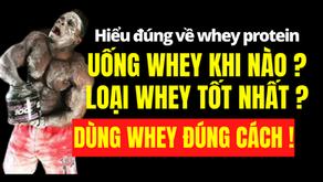 Whey Protein - Tổng hợp hướng dẫn chi tiết