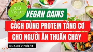 Vegan - Ăn thuần chay:  Protein thực vật và xây dựng cơ bắp