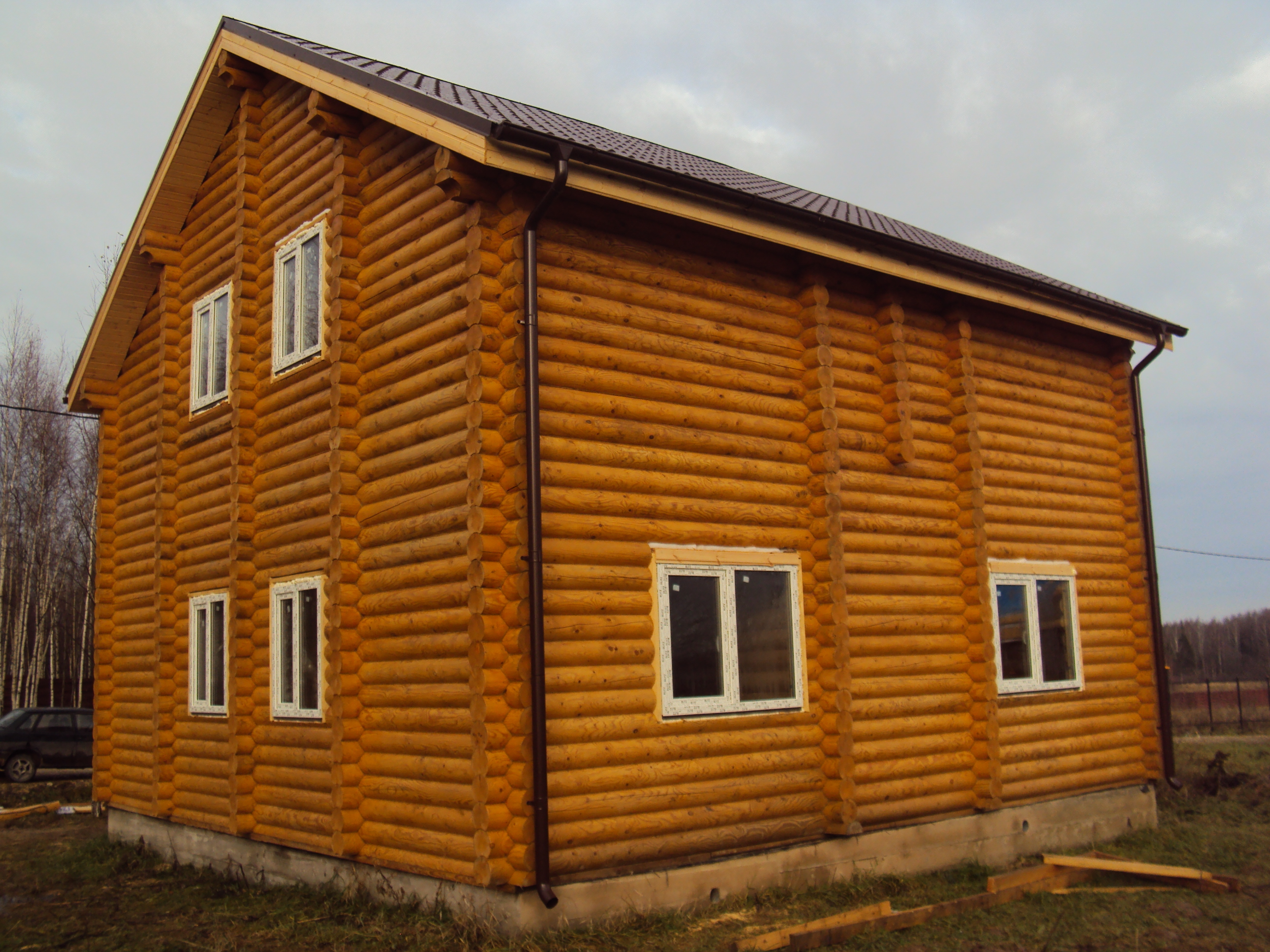 dombani.ru деревянные дома из бревна