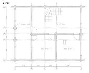 Строительство деревянных домов и бань. Проект DB-139 Дом и Баня из оцилиндрованного бревна, Алтайского КЕДРА, Бруса