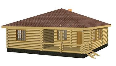 Проекты домов из оцилиндрованного бревна и бруса площадью до 100 м2, строительство коттеджей, проекты загородного дома, дома из бруса,  оцилиндрованное бревно, дома и бани под ключ недорого, проекты дома, деревянные дома под ключ недорого
