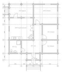 Строительство деревянных домов. Проект DD-110,2 Дом из оцилиндрованного бревна, Алтайского КЕДРА, Бруса