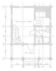 Проект деревянного дома из оцилиндрованного бревна, строительство деревянного дома, дома бани, domabani.com, dombani.ru, dombani, установка цоколя, фундамент на песчаной подушке, фундамент дома, доставка в московской области, общая площадь дома, отделка