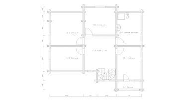 Плана 2-го этажа, отделочные работы,