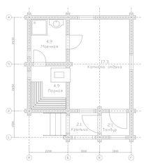 Строительство деревянных домов и бань. Проект DB-31,3 Дом и Баня из оцилиндрованного бревна, Алтайского КЕДРА, Бруса