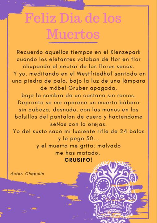 Feliz Día de los Muertos - Chapulin