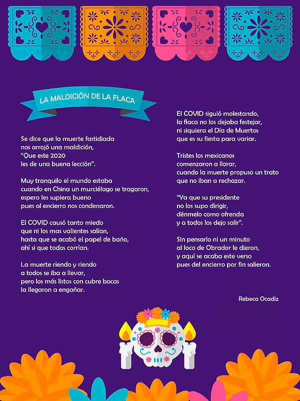 La maldición de la flaca - Rebeca Ocadiz