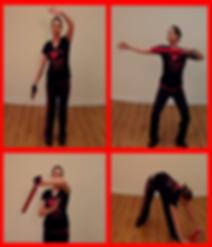 Taostix Nottingham Qi Gong image girl exercising