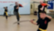 kung fu nottingham sabre routine