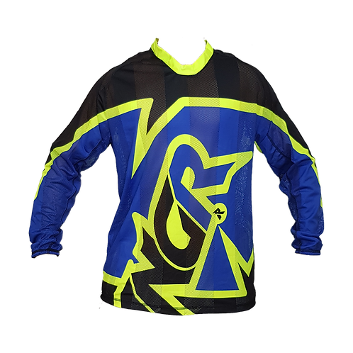 Camisa ANGR Flow Blue & Yellow 2020