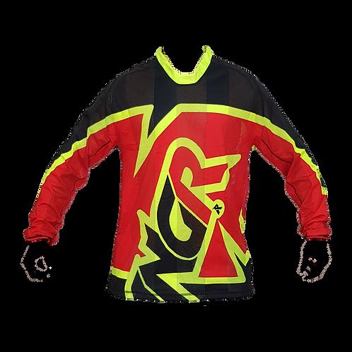 Camisa ANGR Flow Red, Black & Yellow 2020