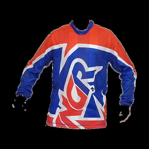 Camisa ANGR Flow Blue & Orange 2020
