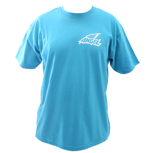 Camiseta ANGR YCF Sign Sky Blue