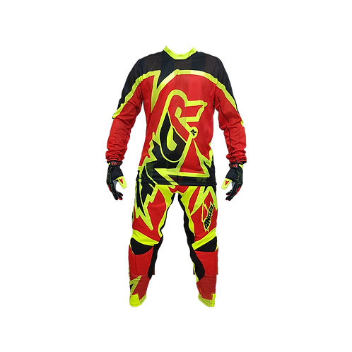 Conjunto ANGR Flow Red & Yellow 2020