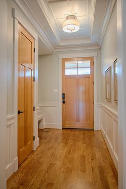 Foyer & Interior of Front Door