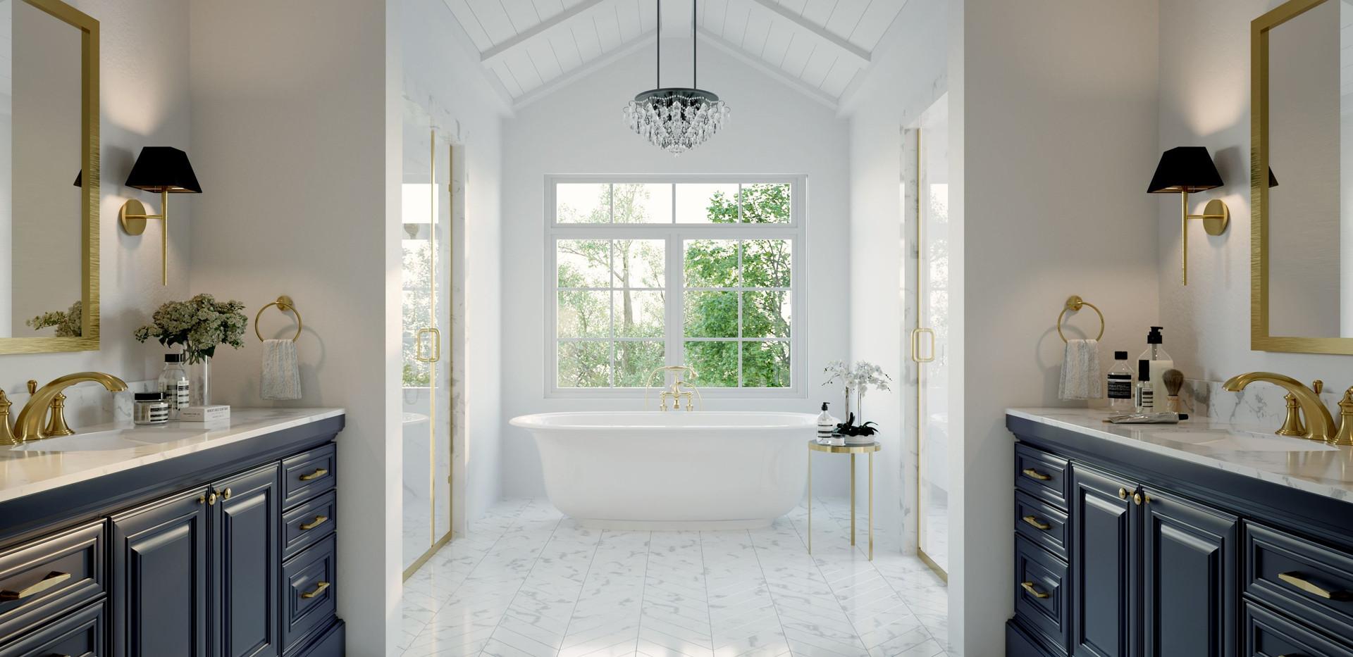 2540 N Ridgeview Rd Master Bath Renderin