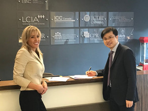 Arbitration Place and Beijing Arbitration Commission/Beijing International Arbitration Center Sign M