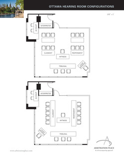 Hearing Room Configurations