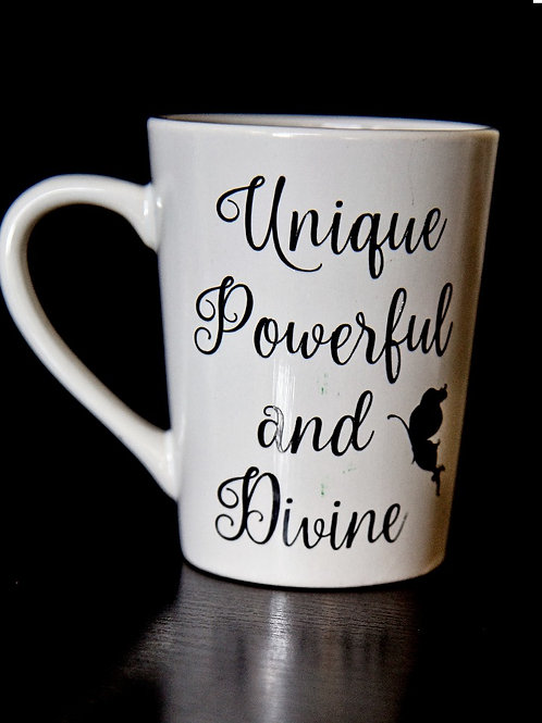 Unique Powerful and Divine Mug