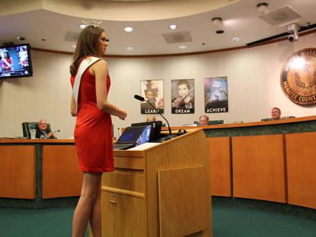 Manatee County School Board Speech