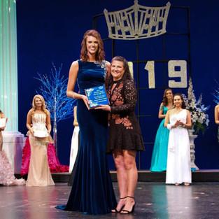 2019 Miss Manatee Scholarship Pageant / Tracy Revels Directors Award Winner