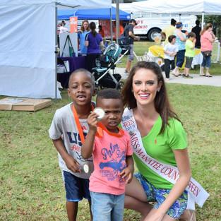 Volunteering at the Kids-4-Kids Dash 2015