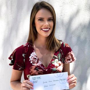 Recipient of the Women's Resource Center scholarship