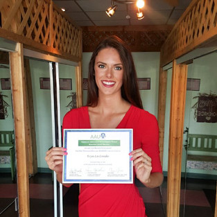 Scholarship Recepient from the Manatee County Chapter of American Association of University Women