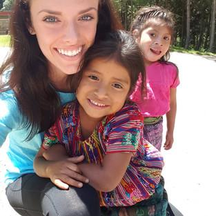 2016 Guatemala Internship Child Sponsor Day!