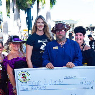 Awarded a $2,000 scholarship by the Anna Maria Island Privateers