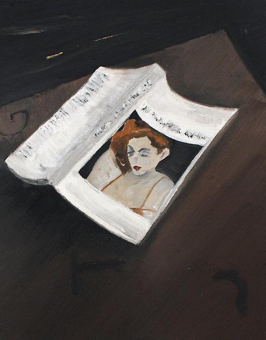 Renata De Bonis, Barbara Ess, oil and wa