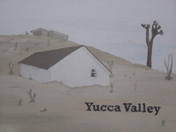 Renata De Bonis, Yucca Valley, 90 X 110