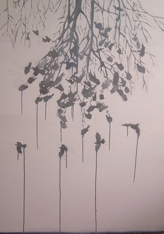 Renata De Bonis, The distance, óleo e c
