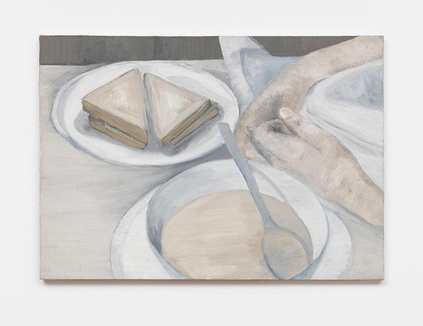 Renata De Bonis, Rosemary, 50x70cm, oil
