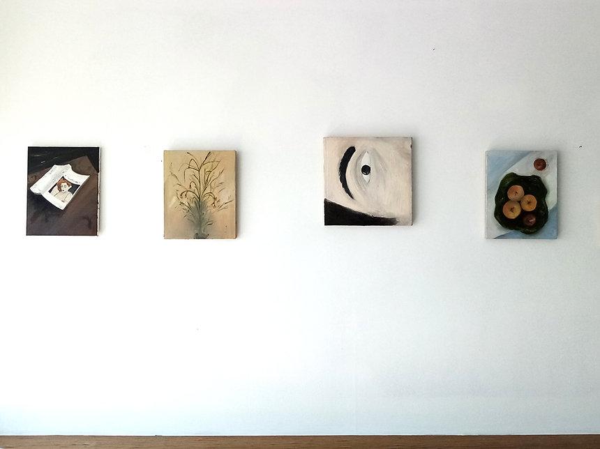Renata De Bonis_small paintings in the s