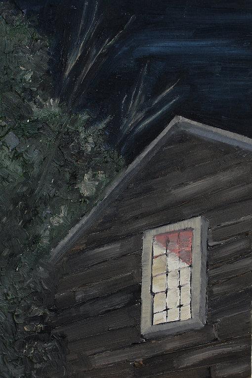 Renata De Bonis, óleo e cera sobre tela