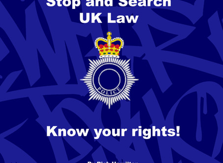 Stop and Search UK Law – Know your rights!