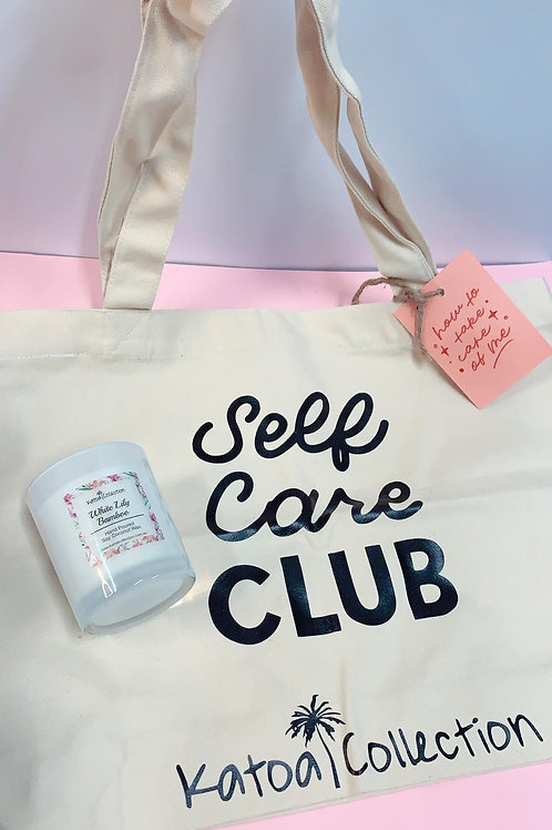 Tote Bag + Candle