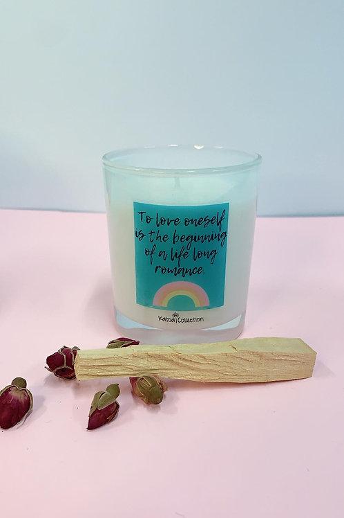 Candle + Palo Santo Smudge stick