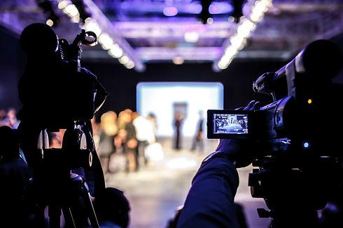 Television Camera Broadcasting a Fashion