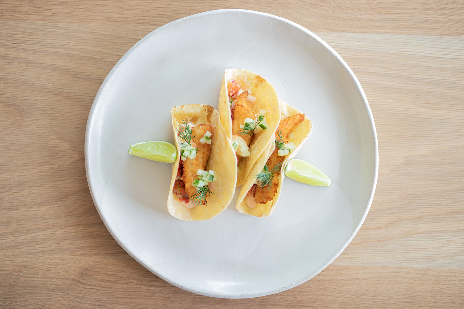 The Coast - soft shell tacos